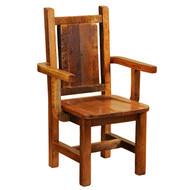 FLB16120-AO Artisan Barnwood Dining Arm Chair