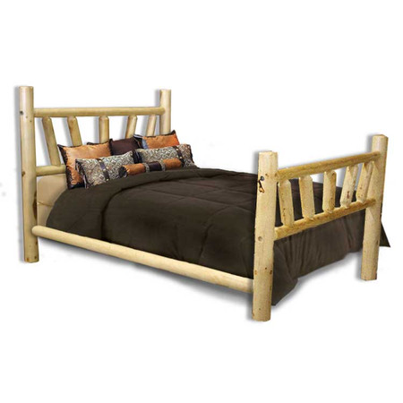 GT1001SB GoodTimber Log Bed with Sunburst Pattern