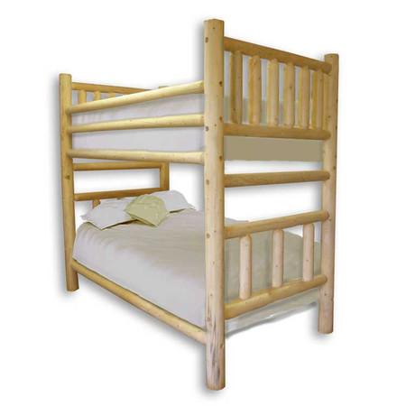GT1002 Log Bunk Bed