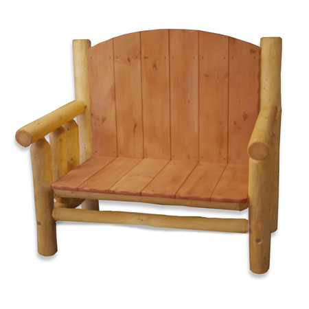 GT2002 GoodTimber Log Loveseat