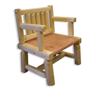GT2007 GoodTimber Log Writing Chair