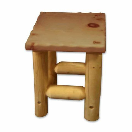 GT2235 Outdoor Lodgepole Legs Side Table