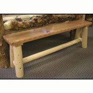 GT5003 GoodTimber Log Dining Bench