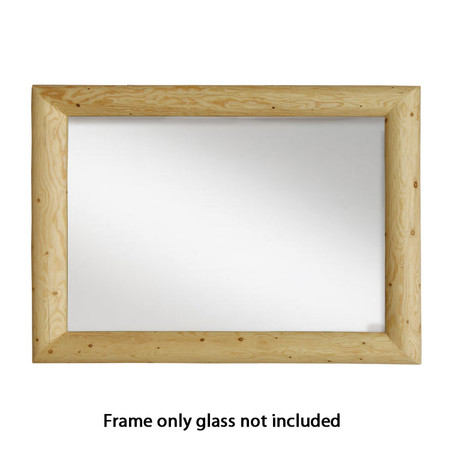 GT6001 Goodtimber Log Mirror Frame w/o Mirror