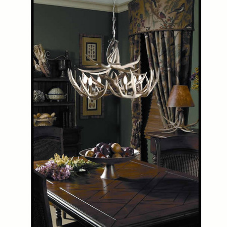 HP66604 The Teton Antler Lighting
