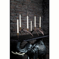 HP66614 Whitetail Antler Candelabra Set