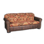 IF1190 Wind River Western Patterned Sofa