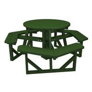 PWPH36 Muskoka POLYWOOD Round Picnic Table