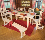 RN221 Solid Top Dining Table