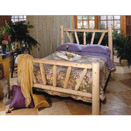 RN338 Sunburst Frame Bed