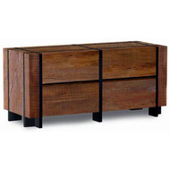 UH02150DR 4 Drawer Barn Wood Dresser