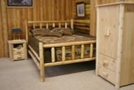 HLCF7020 Frontier Cedar Log Bed