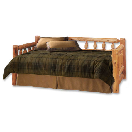 1213 Rustic Aspen Log Day Bed