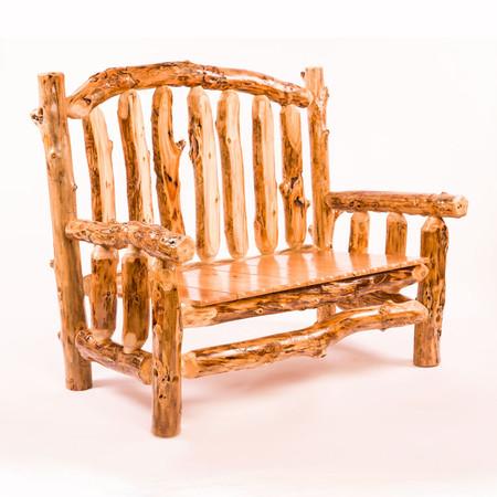 2202 Rustic Lumber Loveseat