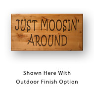 2229 Personalized Rustic Wooden Sign