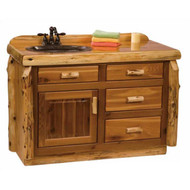2249 Rustic Bathroom Vanity