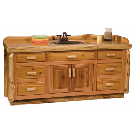 2251 Rustic Bathroom Vanity