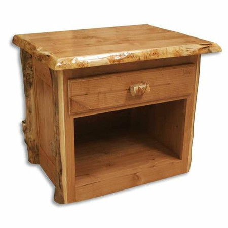 3208 Single Drawer Lumber End Table/Nightstand /TV Stand
