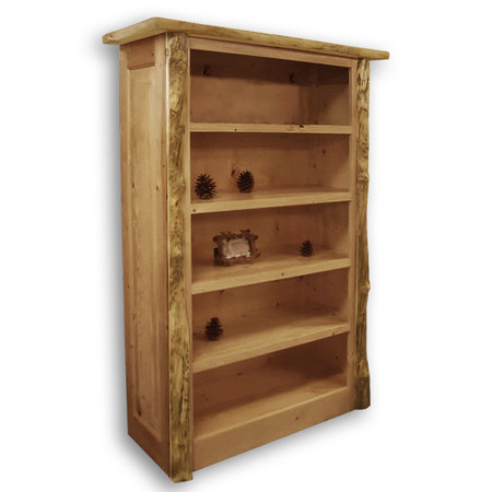 4209 Enclosed Rustic Bookcase