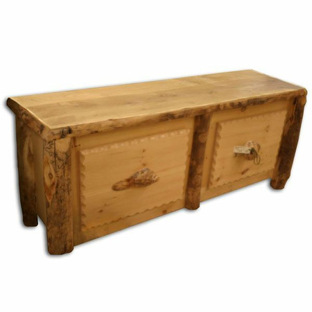 4231 Log Blanket Dresser/TV Stand