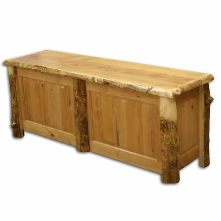4232 Log Blanket Chest Dresser/ Bench