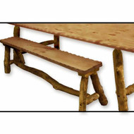 5209 Outdoor Rustic Picnic Bench