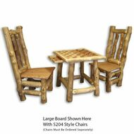 6105 Rustic Checkerboard Table