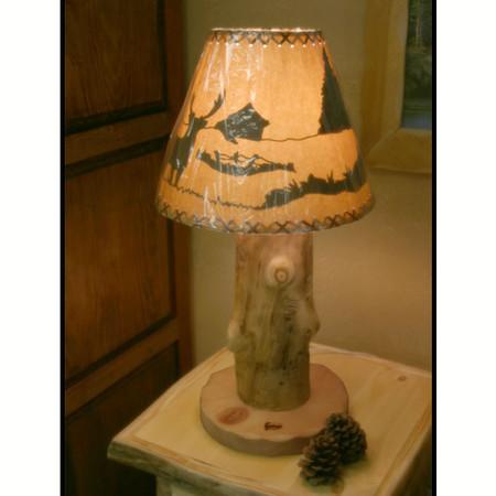 6202 Rustic Aspen Table Lamp