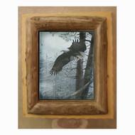 6211 Aspen Log Over Lumber Picture Frame