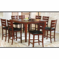 A00680 Counter Height Square Table and Chairs