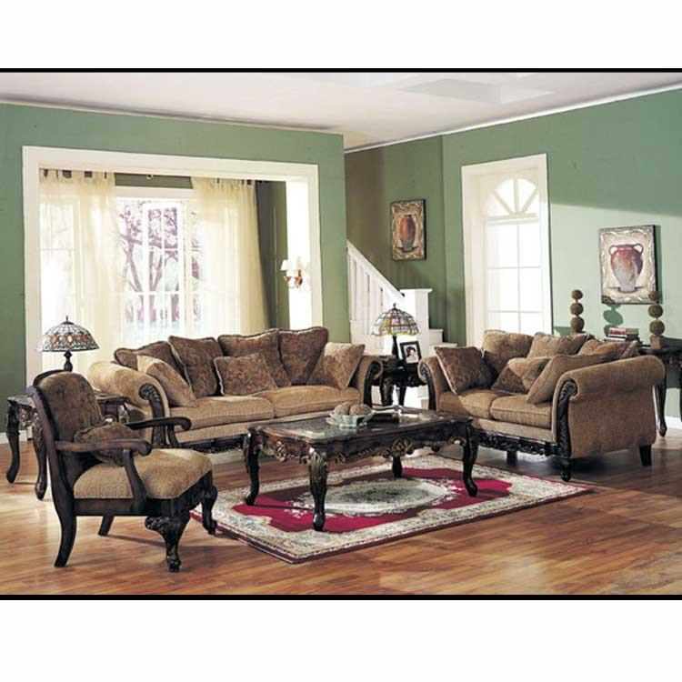 A05600 Chenille Fabric Sofa Set