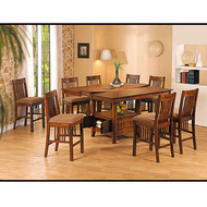 A07938 Counter Height Table Set with Leaf