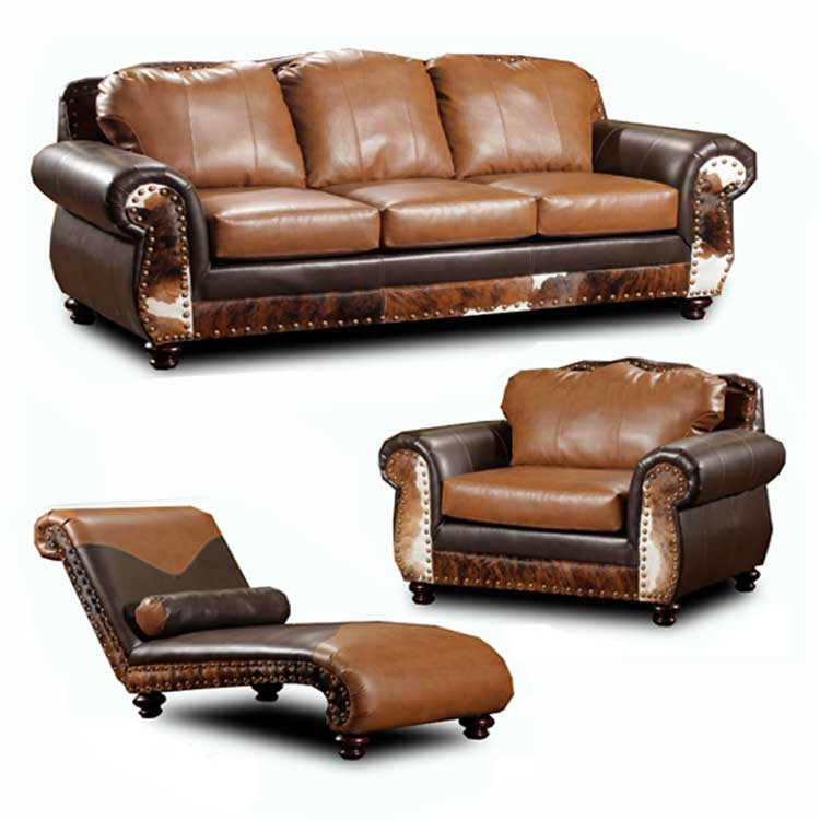 Rustic Furniture Denver Couch Set
