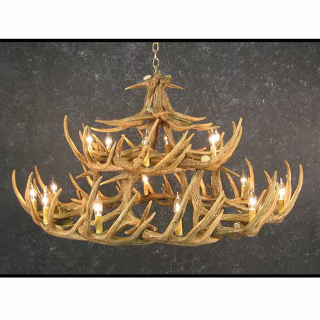 CHW30 Whitetail 30 Antler Chandelier