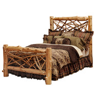 FL10103 Twig Style Bed