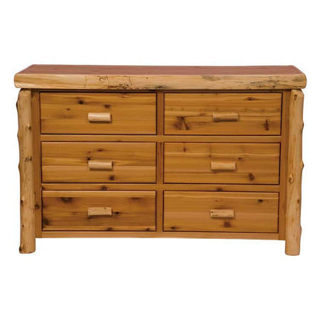 FL12040 Traditional 6 Drawer Dresser