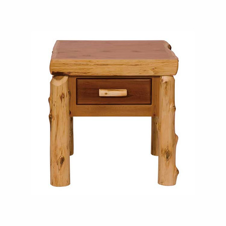 FL14020 One Drawer End Table - Traditional