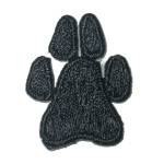 Iron On Patch Applique - Paw Print Small