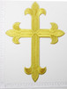 "Latin Cross  12"" x 8 7/8""Patch Iron On Applique - (305mm x 225.4mm)"