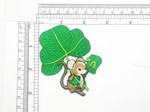 St Patricks Irish Shamrock Mouse Patch Embroidered Iron On Applique