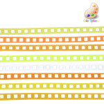 "Grosgrain Ribbon 3/8"" Reflective *Colors* 3 yards"