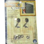 Snap Charms Dritz Back Pack & Sneakers Dangle