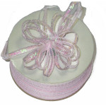 """Pull A Bow 1/8"""" Pink Opalescent 100 Yards"""