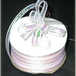 """Pull A Bow 3/8"""" Pink Opalescent 50 Yards"""