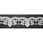 "Venise Lace 1 1/2"" White Fancy"