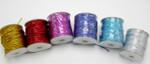 "Elastic Cord 1/16"" (1.5mm) Metallic *Colors* 10 Yards"
