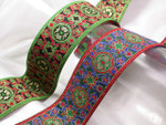 "Jacquard Ribbon 1 1/2"" (38mm) Renaissance Style *Colors*"
