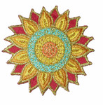 Iron On Patch Applique - Asian Decorative.