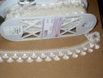 "Venise Lace 1 1/2"" (38.1mm) Off White 5 Yards"