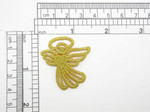 Angel Metallic Gold Iron On Patch Applique